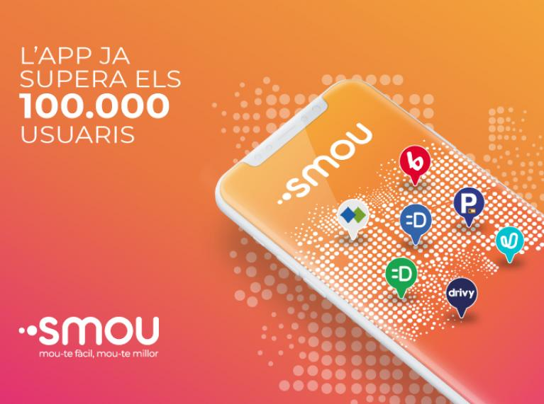 smou has passed the 100.000 user mark